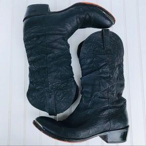 Durango Men's Black Western Cowboy Boots Size 10D